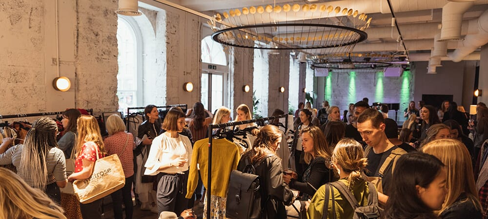 An evening of sustainable fashion