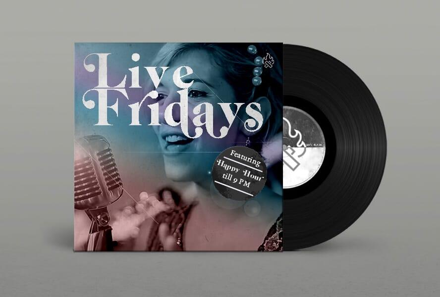 Live Fridays Vinyl (Francesca)
