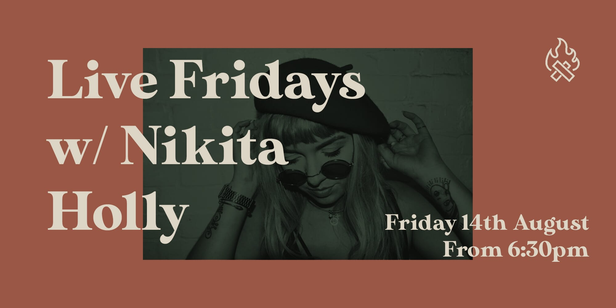 Live Friday Nikita banner